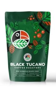 Café Black Tucano Organic Coffee - Moído 500 g