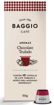 Baggio Aromas Chocolate Trufado - 10 Cápsulas