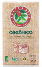 Café Costas 5588 Orgânico Moído 250g