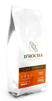 Café D Rocha Gourmet Chocolate Caramelo - Moído 250g