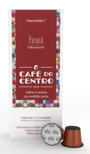 Café do Centro Paraná - Cápsulas 10 Unidades