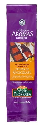 Café Floresta Aromas Trufas de Chocolate - Moído 100g
