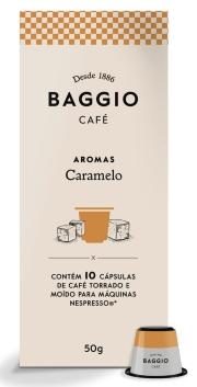 Café Baggio Caramelo - Cápsulas 10 Unid