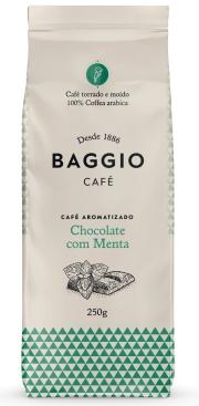 Baggio Aromas Chocolate com Menta - Moído - 250g