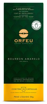 Café Orfeu Bourbon Amarelo 10 Cápsulas