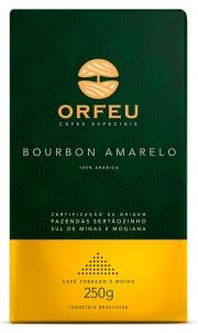 Café Orfeu Bourbon Amarelo Torrado e Moído 250g