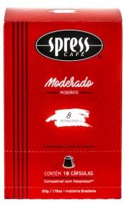 Café Spress Moderado - Cápsula 10 Unidades