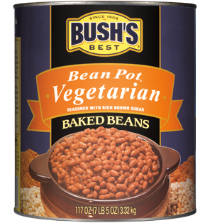 Bush's Best vegetarian beans are bulk beans vegetarians love.
