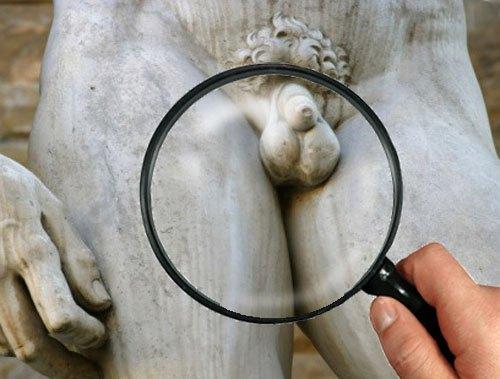 Nude beach erection