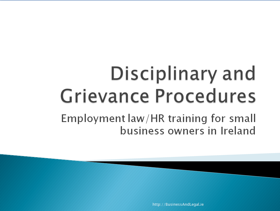 Disciplinary and grievance procedures the facts you should know disciplinary and grievance procedures the facts you should know employment rights ireland thecheapjerseys Image collections