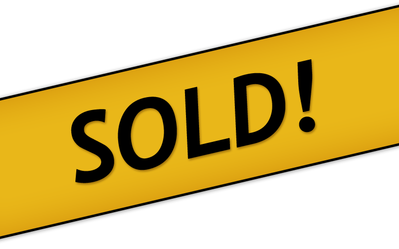 Sold-banner!