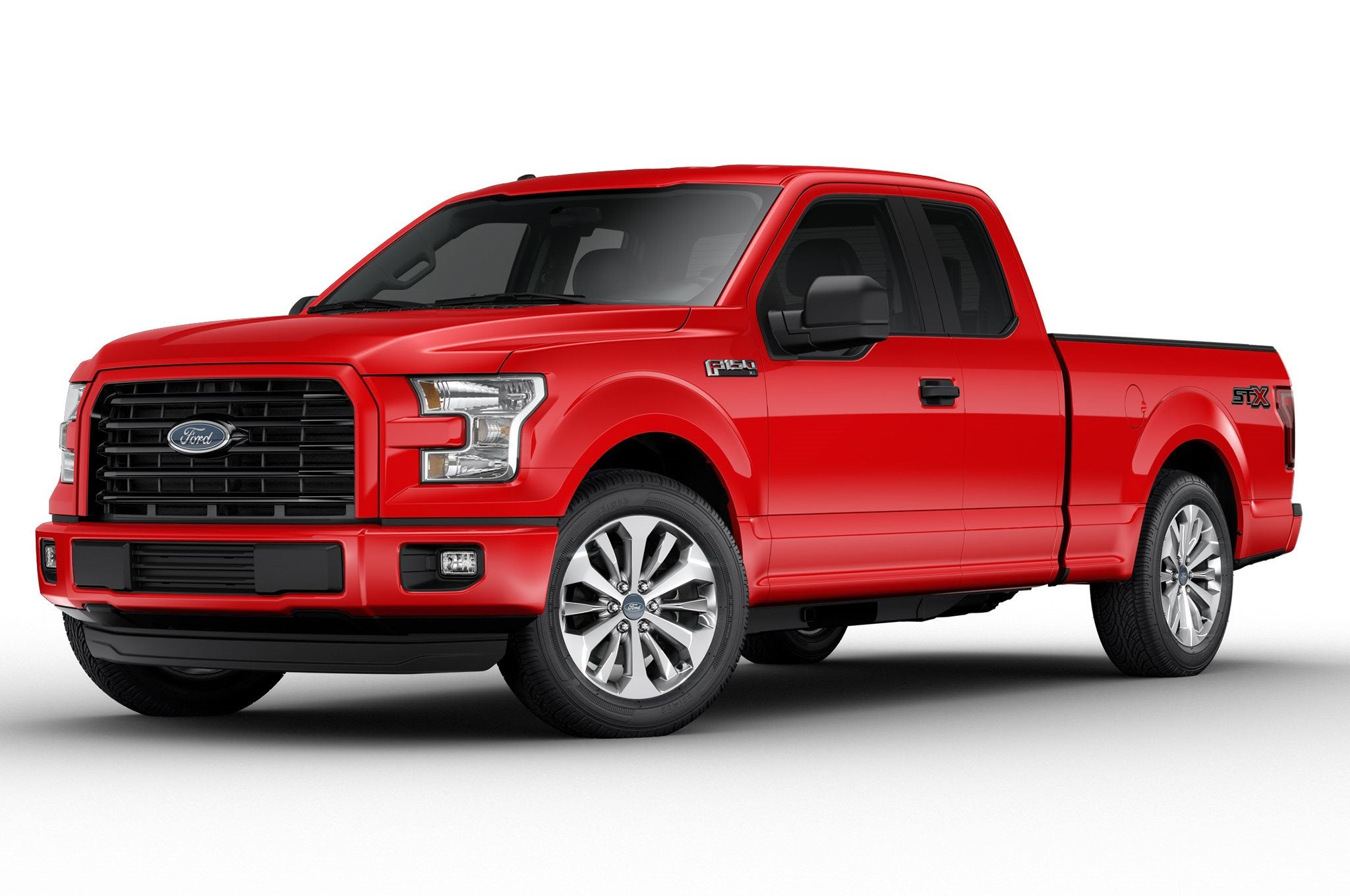 Red_ford_truck