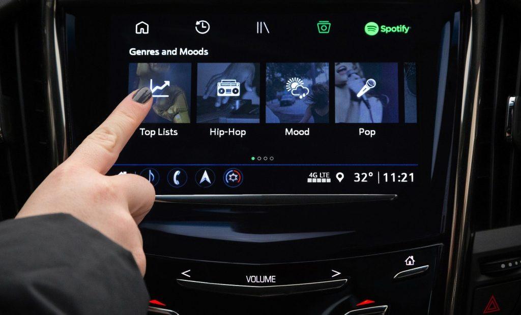 Spotify y General Motors