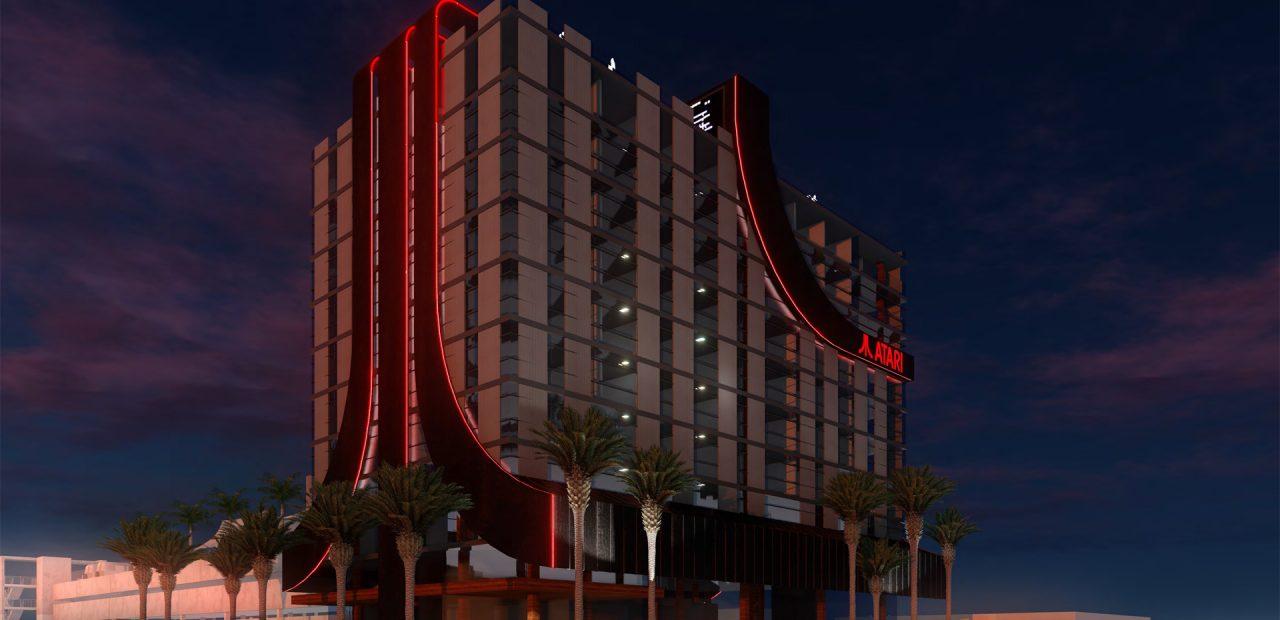 Atari hoteles videojuegos