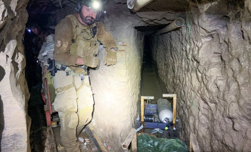 Túnel Frontera.