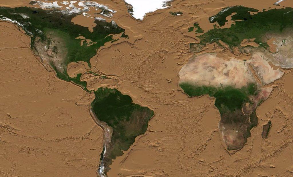 NASA Tierra Océanos Tierra Planeta