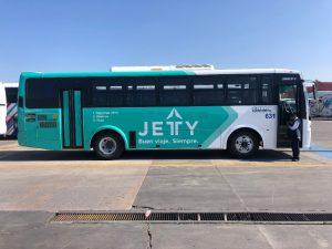 El Gobierno de la CDMX suspende el servicio de transporte SVBUS a través de la app Jetty