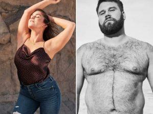 Abercrombie se sacude su imagen de mostrar modelos de cuerpos perfectos con una nueva campaña inclusiva