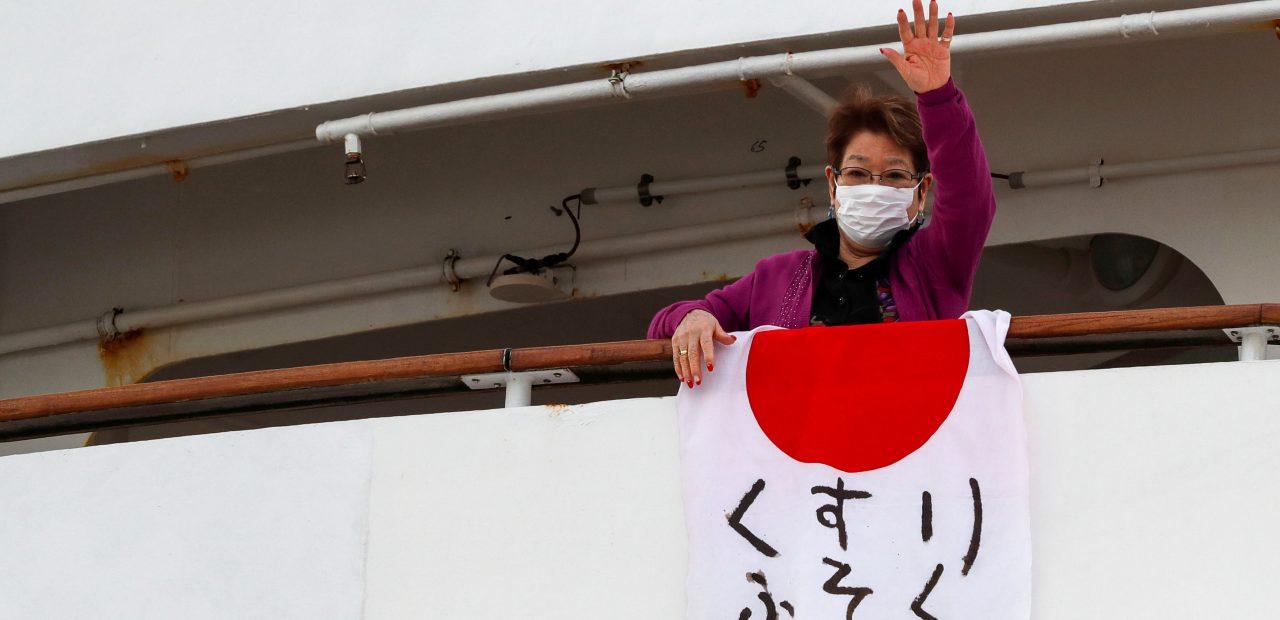 coronavirus crucero japonés