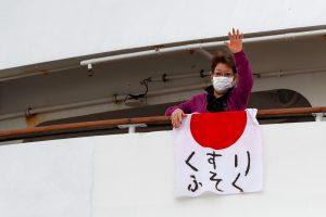 El número de casos de coronavirus en un crucero japonés se eleva rápidamente— ya hay 61 infectados