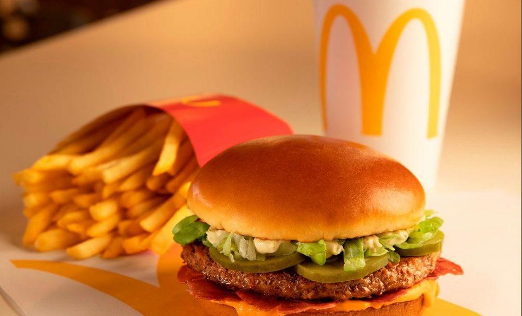 McDonald's hamburguesa