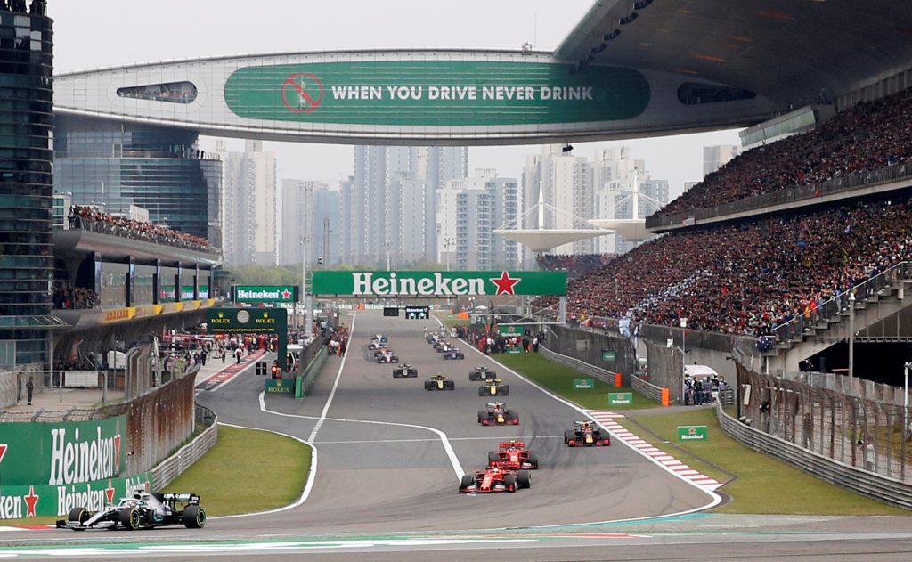 Gran Premio de China coronavirus Fórmula 1
