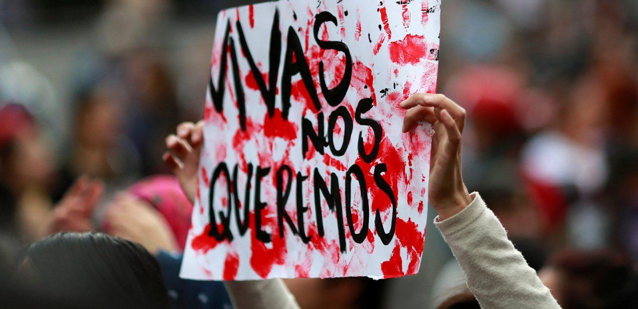 Mujeres protestan feminicidio Ingrid Escamilla