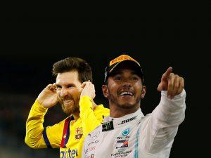 Lionel Messi y Lewis Hamilton comparten el Premio Laureus al mejor deportista de 2020