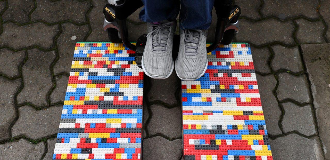 rampas para sillas de ruedas lego otras partes del mundo