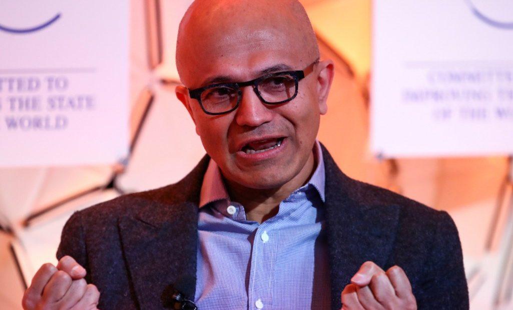 Microsoft Satya Nadella inversion mexico
