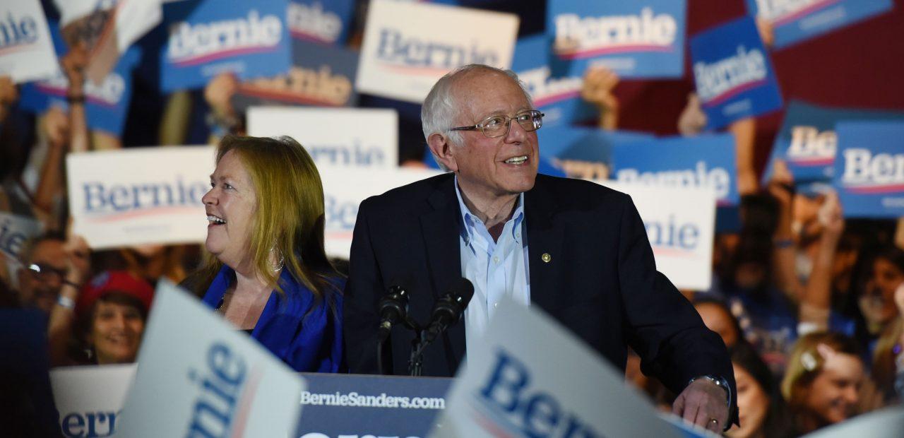 Bernie Sanders gana la asamblea electoral demócrata en Nevada candidato a la presidencia Estados Unidos