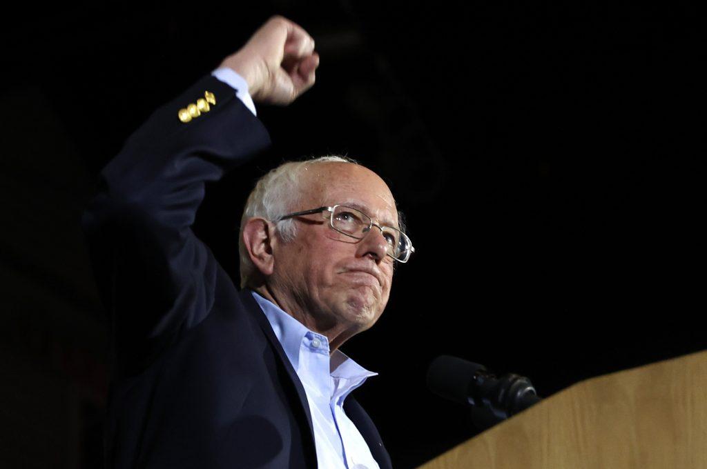 Bernie Sanders San Antonio Texas candidato a la presidencia Estados Unidos