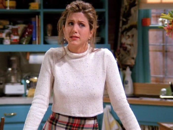 Jennifer Aniston Rachel ultima del cast elenco friends