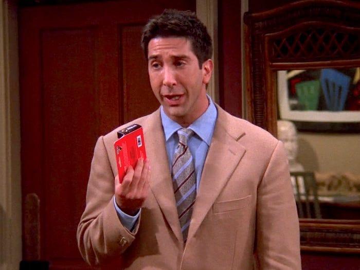 Ross protagonista friends
