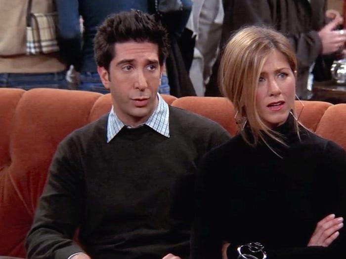 Ross personaje protagonista serie Friends