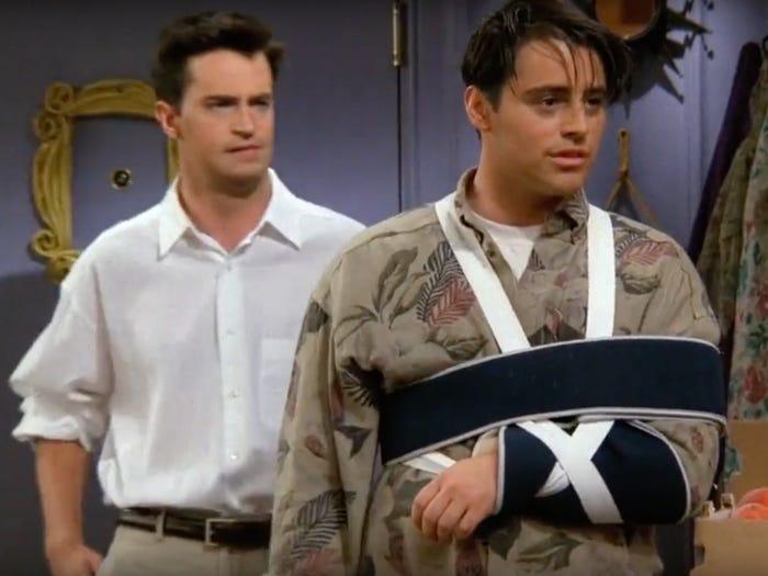 Joey friends elenco protagonista