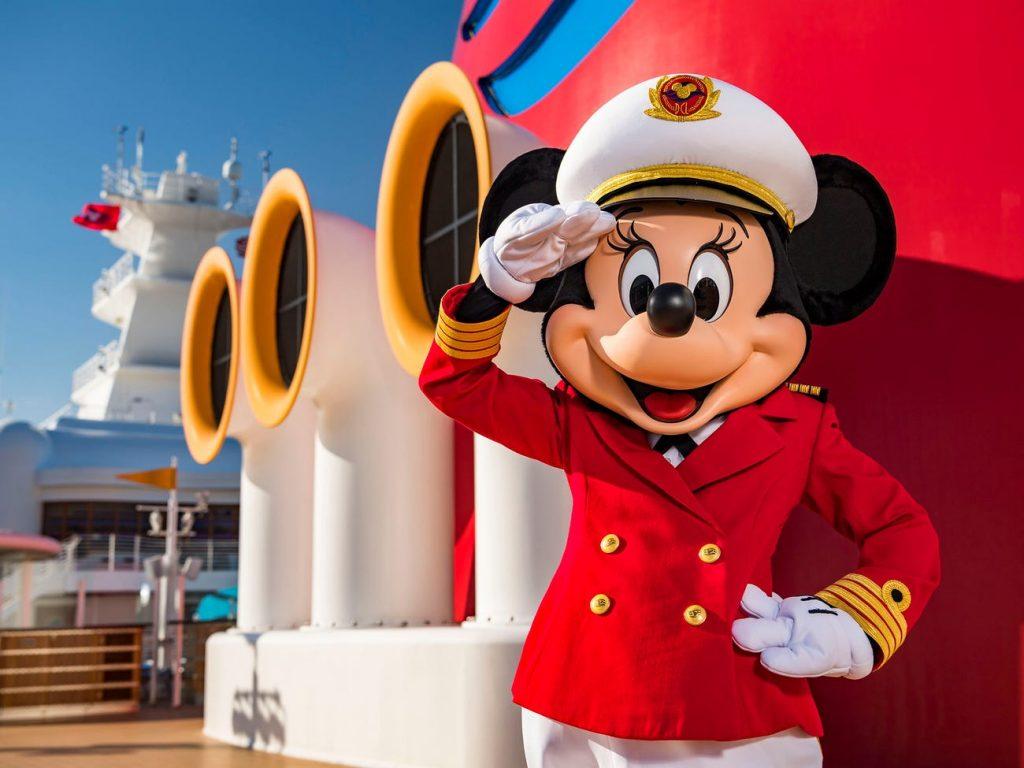 Minnie Mouse disney cruise line