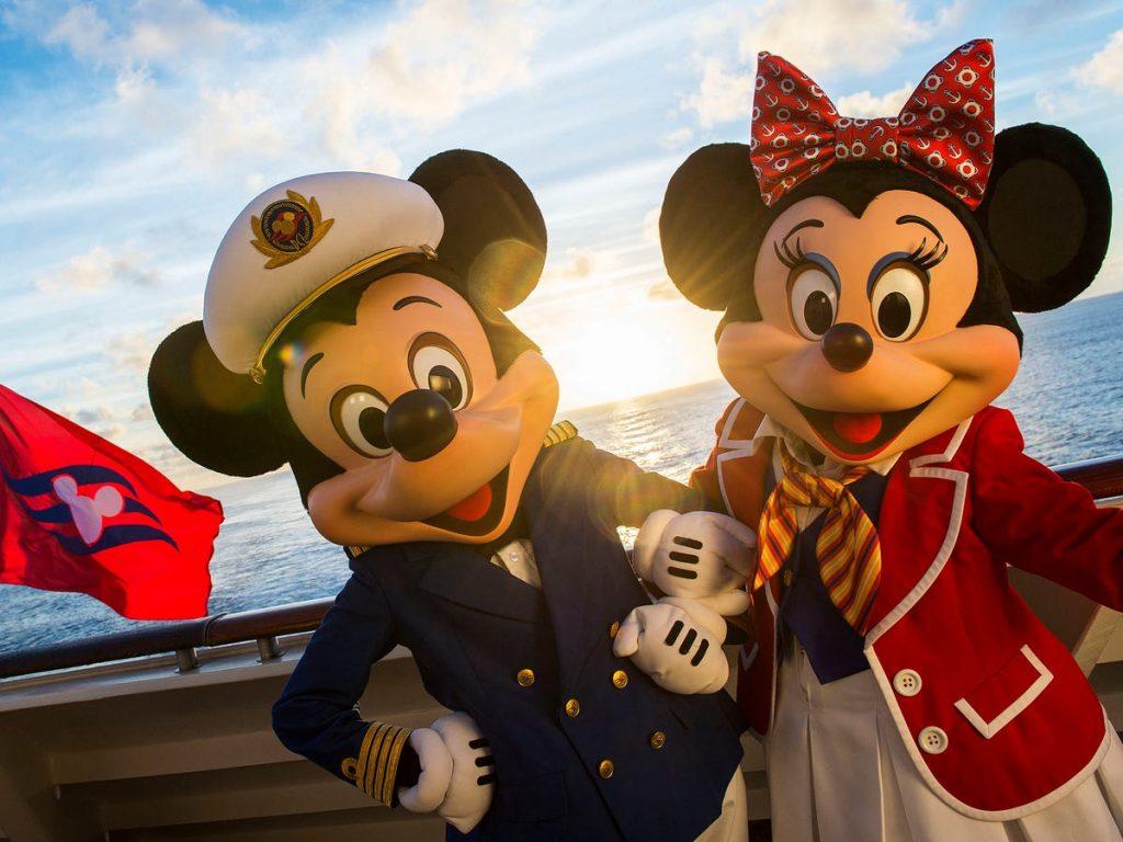 Mickey Minnie mouse cruceros disney