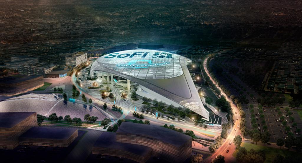 SoFi Stadium Chargers Rams Los Angeles NFL
