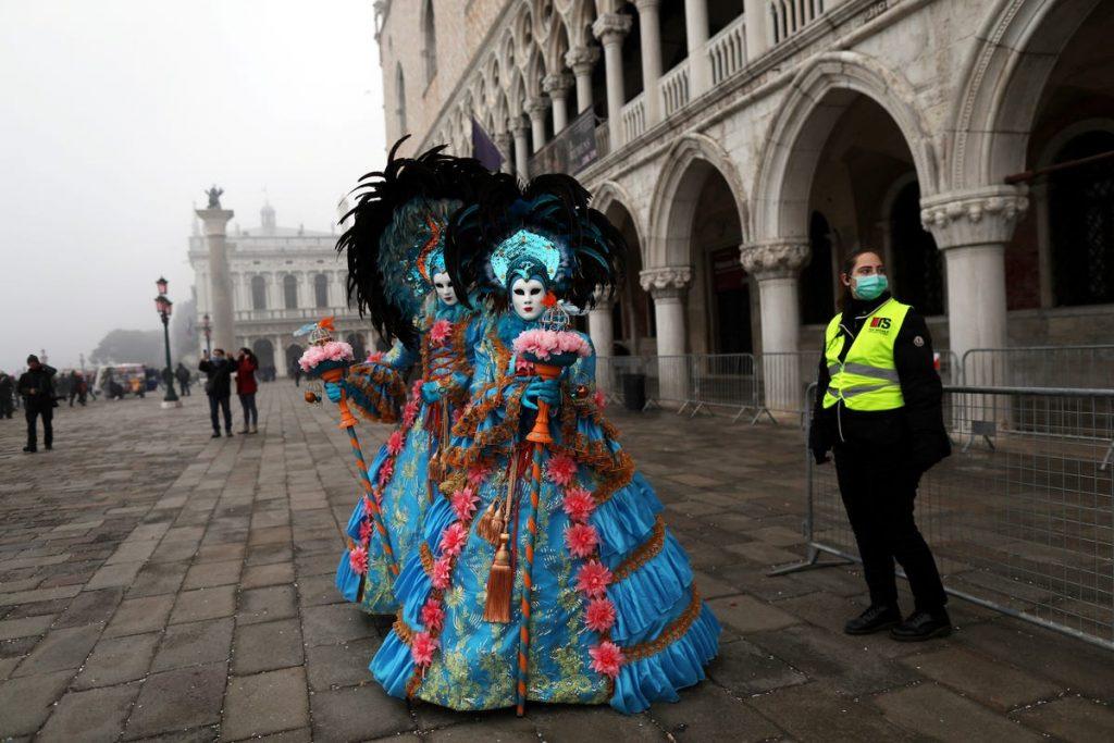 carnaval de venecia cancelado coronavirus italia