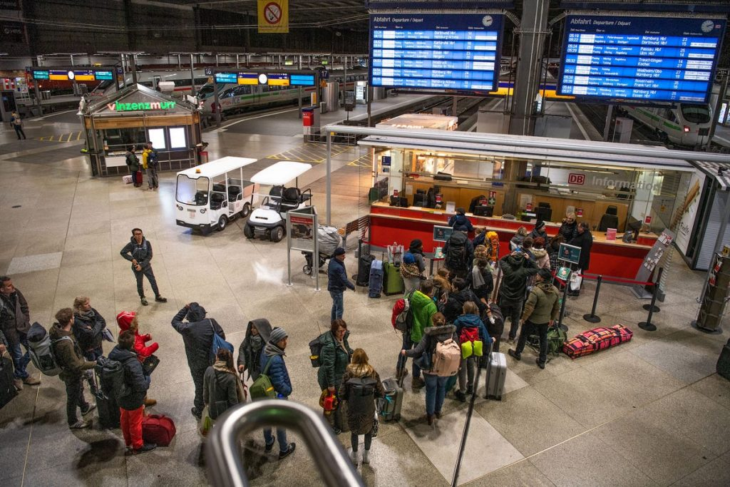 europa coronavirus tren cierre de fronteras