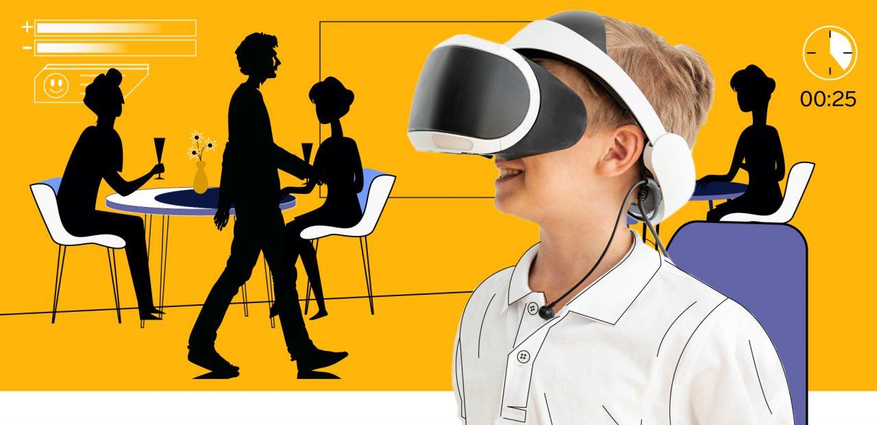 Realidad Virtual terapias autismo