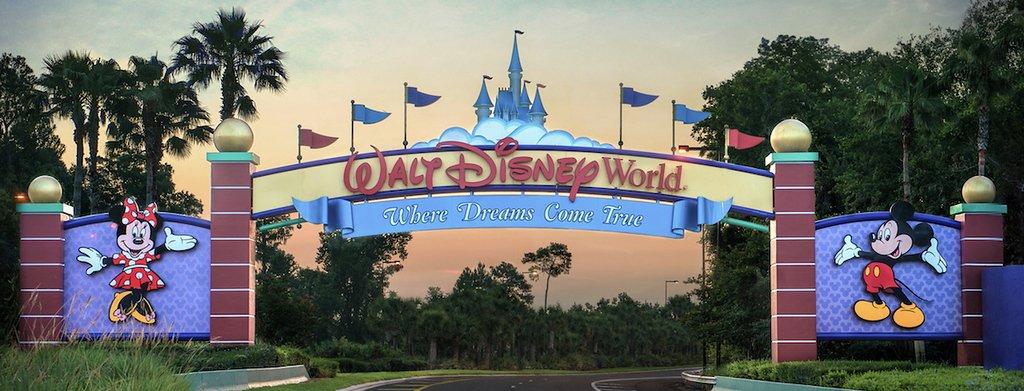 entrada Walt Disney World