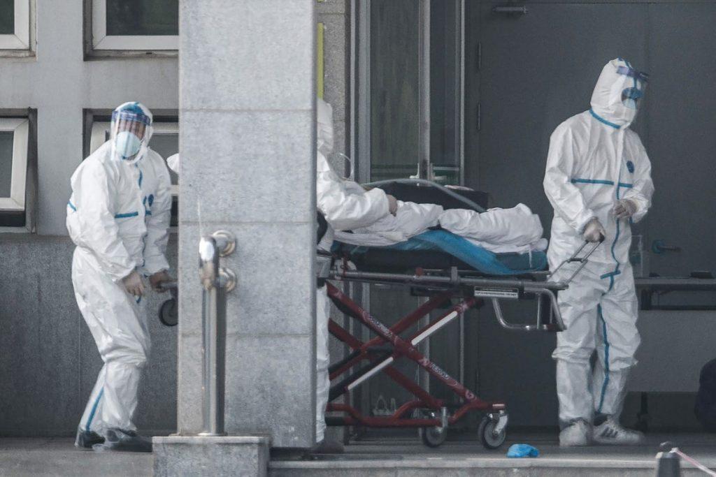 paciente de hospital contagiado por coronavirus china wuhan