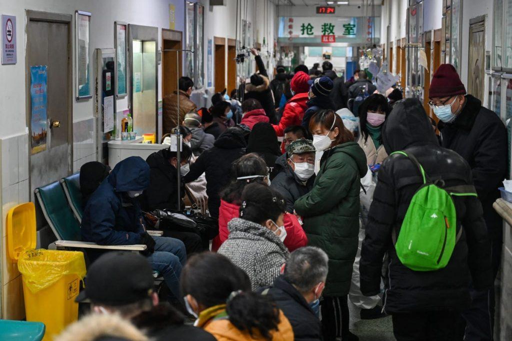 coronavirus china pacientes enfermos hospital cruz roja