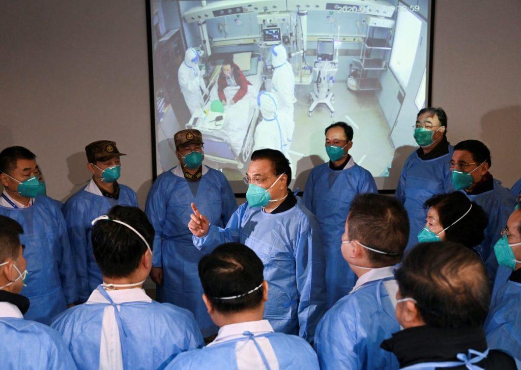 personal medico china coronavirus covid-19