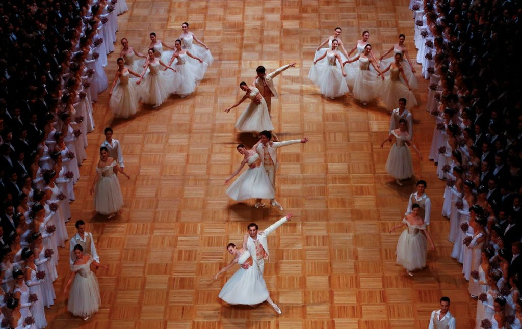 opera ball viena austria ballet estatal mujeres