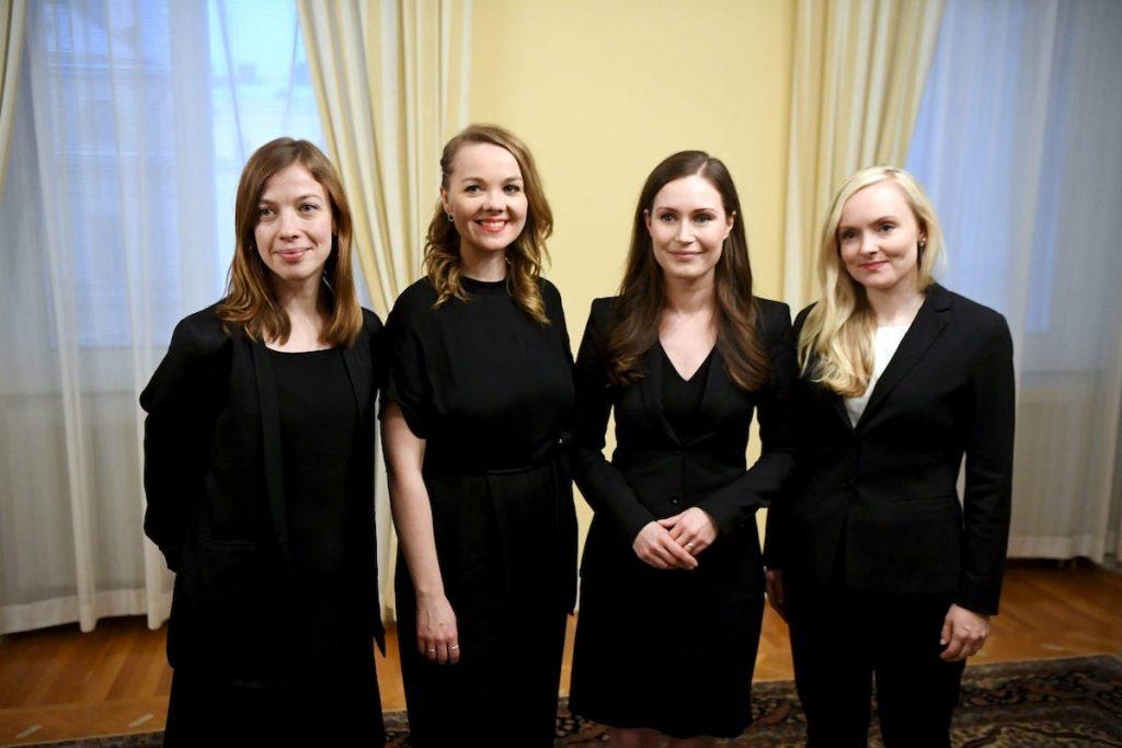 mujeres gobierno de finlandia