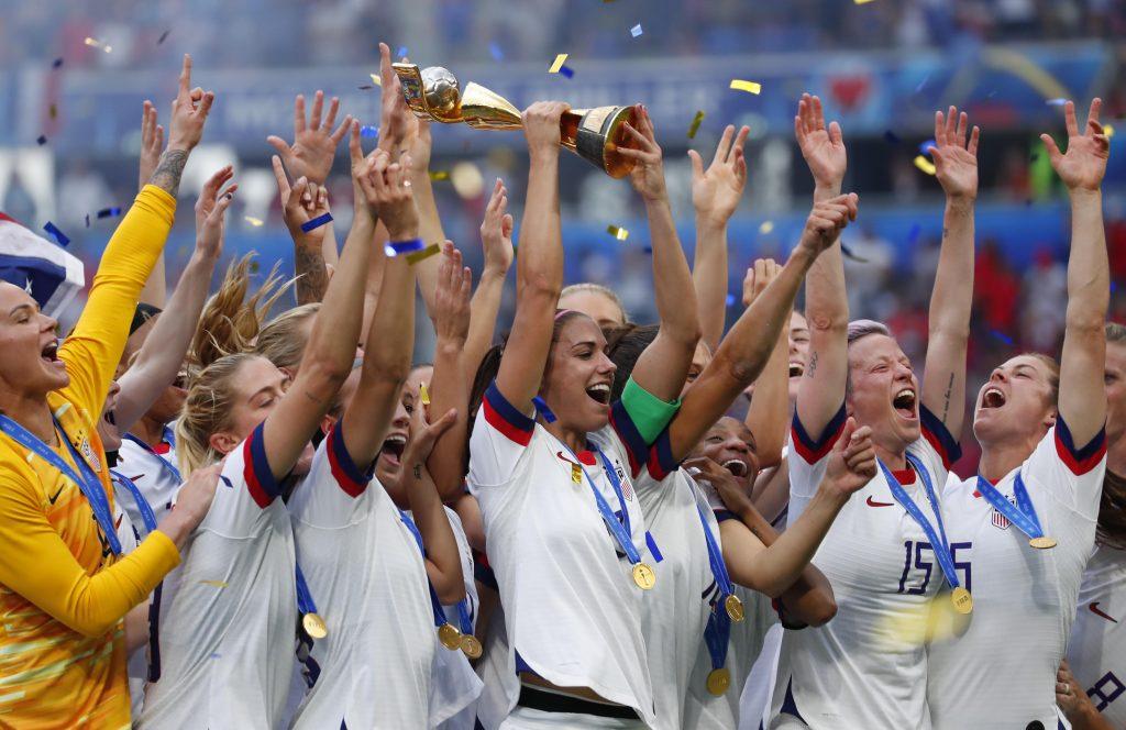 seleccion de futbol femenil de estados unidos copa del mundo francia 2019 mujeres campeonas