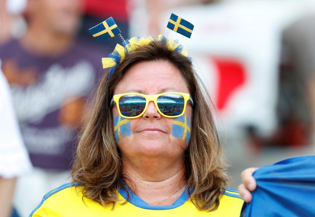 suecia aficionada futbol mundial 2019